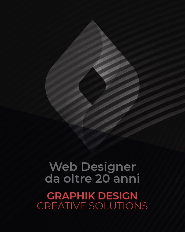 Freelance web and graphic designer Italy